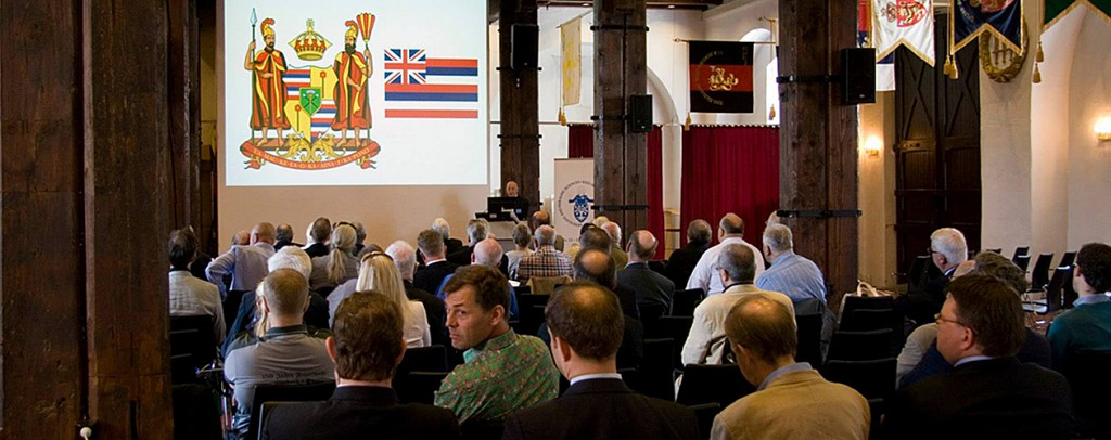 Bild från heraldiska kongressen i Oslo 2013