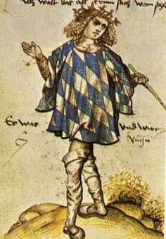 Den bayerske härolden Jörg Rugenn från omkring 1510.