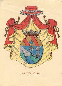 Ätten Wallwijk, friherrlig 1770.