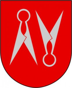 Arms of the city of Borås.
