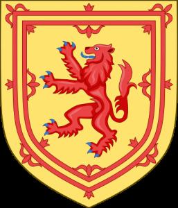 Skottlands riksvapen med lejonet