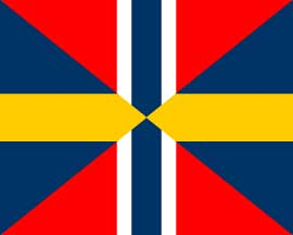 Unionsflaggan 1815 (del av densamma)
