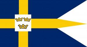 Sveriges örlogsflagga 1658-