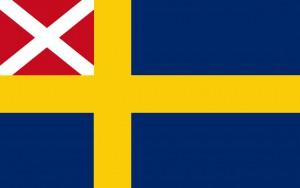 Handelsflottans flagga 1818-44