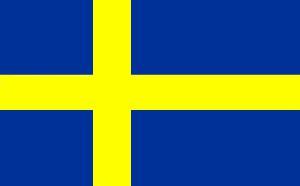 Sverige flagga 1905-80