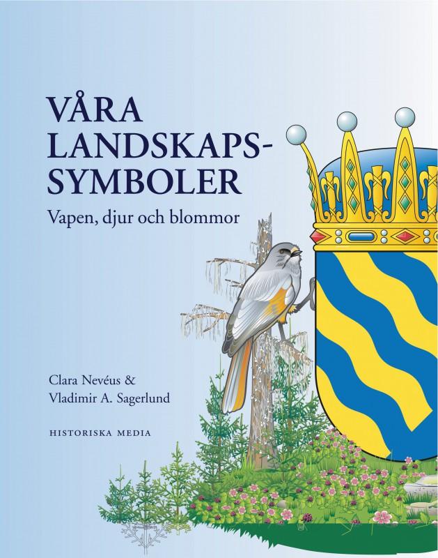Swedish National Symbols In A Book Heraldik Och Vapenskldar