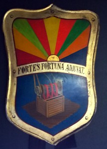 An old Coat of arms for one of the members of Par Bricole