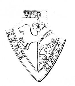 Folke Lagmans vapensköld från 1220-tal.