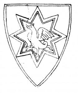 Sigill för Helena Sverkersdotter, daterat till 1238.