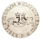 Kung Erik Knutsson (1208-16) sigill med de två motvända lejonen.