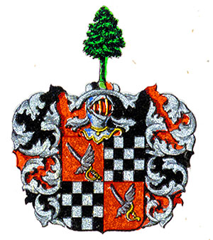 Coat of arms of family af Klercker, A2132