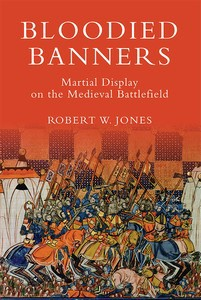 Omslag till Bloodied banner, av Robert W Jones
