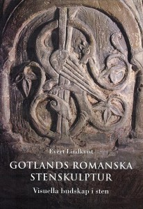 "Book cover ""Gotlands romanska stenskulpturer"""