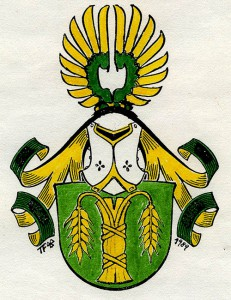 Coat of Arms of Wasling family, by Tor Flensmarck