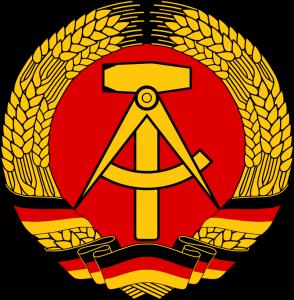 Östtysklands statsvapen 1955-90