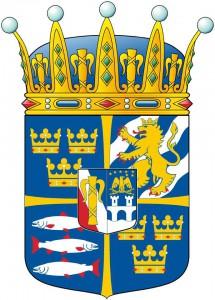 Arms of H.R.H. Prince Nicolas, Duke of Ångermanland. Artist: Vladimir Sagerlund