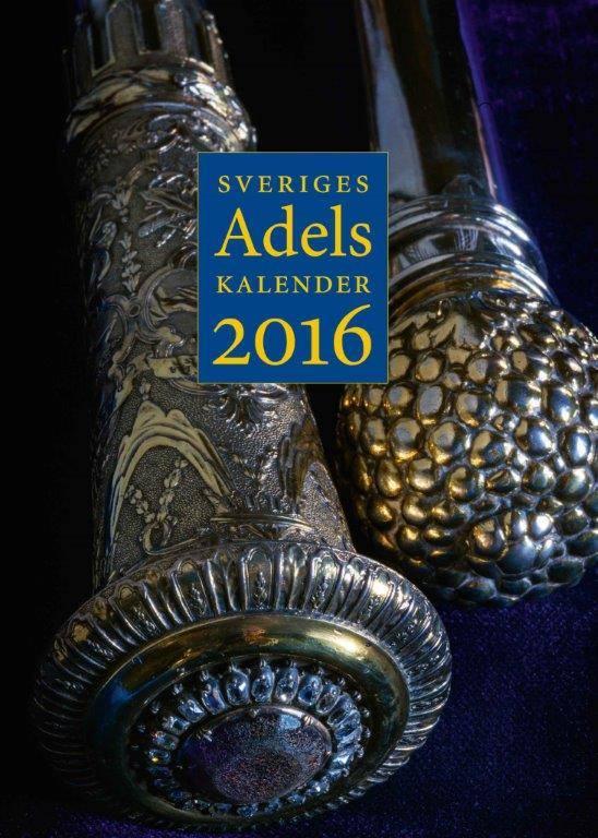Omslaget till 2016 års adelskalender