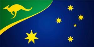 Förslag till ny flagga för Australien