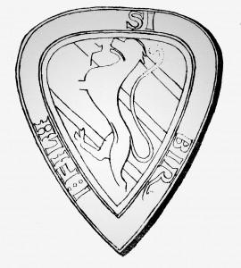 Birger jarls sigill från 1230-taets mitt