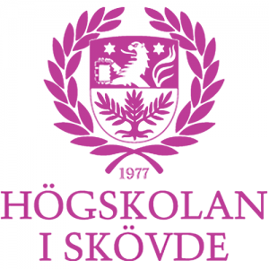 Coat of arms of the University of Skövde (Högskolan i Skövde).