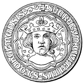 Stockholms stadssigill från 1376