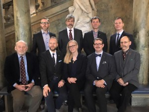 Svenska Heraldiska Föreningens styrelsen 2016 // Society Board of Governors 2016