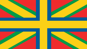 Norrlands (framtida) flagga. Bild: Enar Nordvik