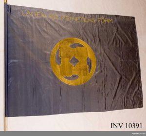 Svenska brigadens fana från 1919.