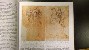 Paul von Dornsteins illustration av bepansrade ryttare från 1504.
