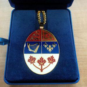 Medaljong för Kanadas härolder, från 2016