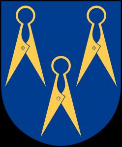 Vapensköld för Borås Heraldiska Förening