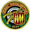 Emblemet för Borås Pistolskytteföreningen,