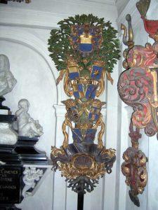 Jost Schutzes träsniderier i Spånga kyrka. Foto: Vladimir Sagerlund