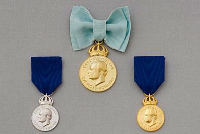 Konungens medalj av 12:e storleken
