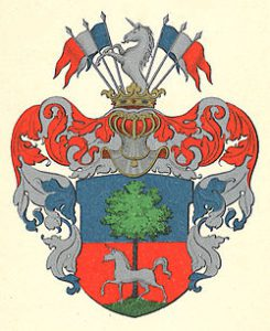 Arms of the noble family Breitholtz