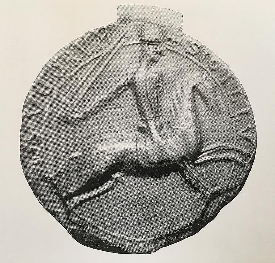 Birger brosas sigill från sent 1100-tal.