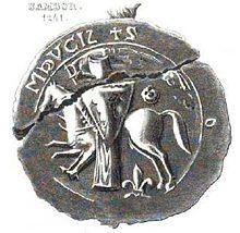 Sigill för Sambor II, hertig av Pomerellen,