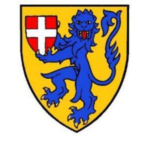 Vapensköld för Danskt heraldiskt sällskap