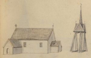 Eks kyrka av Johan Peringsköld