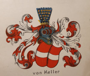 von Kellers vapensköld