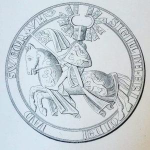 Hertig Erik till häst