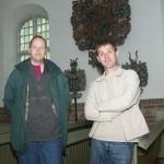 Tillsammans med Henric Åsklund i Hällekis 2004. Foto: Lennart Wasling