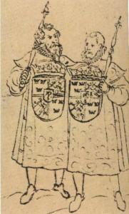 Två av Erik XIVs härolder