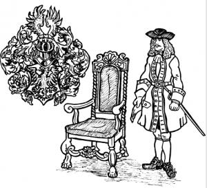 Barockens heraldik. Teckning: Anders Segersven.