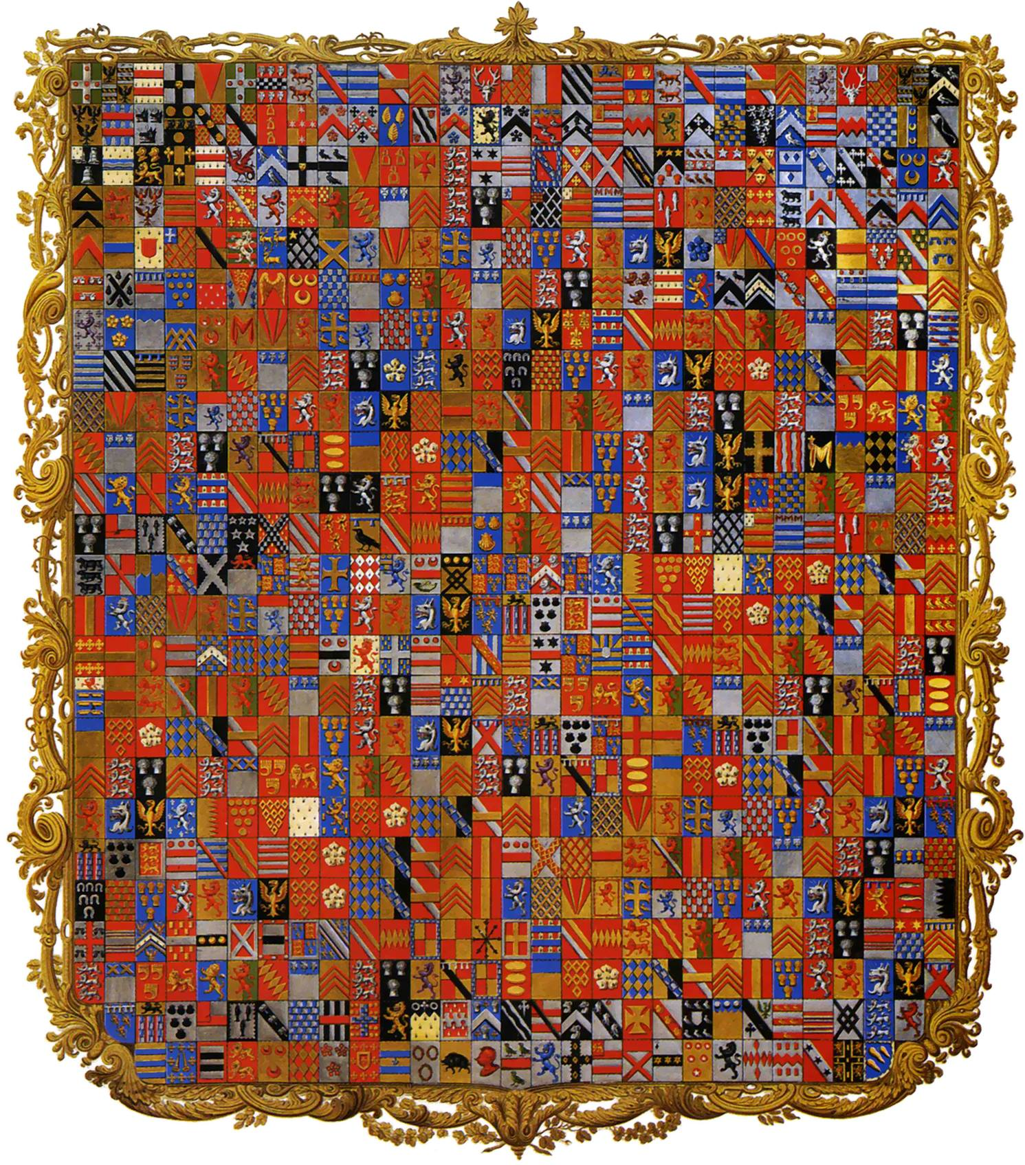 Grenville Diptych, skapad för 1a markisen av Buckingham.