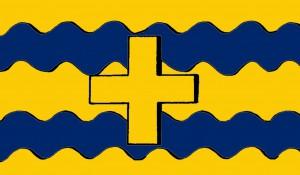 Svenska flottans flagga 1525-80, möjligt utseende 5