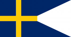 Sveriges baner (fana, flagga) 1560-1625.
