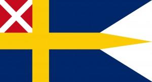 Sverige flagga för flottan 1815-1844