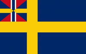 Sverige flagga för handelsflottan 1844-1905