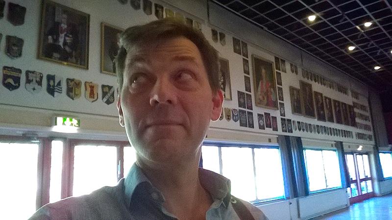 Jesper Wasling at Par Bricole in Borås
